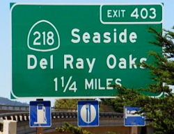 Del Ray Oaks Sign. From the KRCA article.