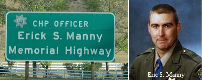CHP Officer Erick S Manny