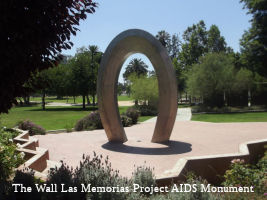 Wall Las Memorias AIDS Project