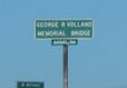 George R Volland Memorial Bridge