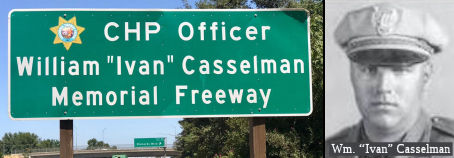 CHP Officer William (Ivan) Casselman Memorial Highway