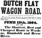 Dutch Flat-Donner Lake Wagon Road