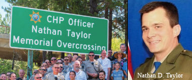 California Highway Patrol Officer Nathan Taylor Memorial Overcrossing