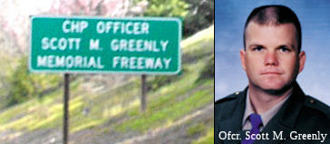 CHP Officer Scott M. Greenly Memorial Freeway