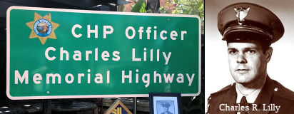 CHP Officer Charles Lilly Memorial Highway