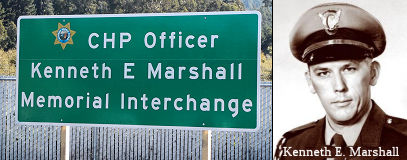 CHP Officer Kenneth E. Marshall Memorial Interchange