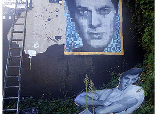 Tony Curtis Mural