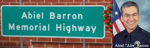 Abiel Barron Memorial Highway