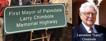 Larry Chimbole Memorial Highway
