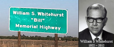 William S. Whitehurst (Bill) Memorial Highway
