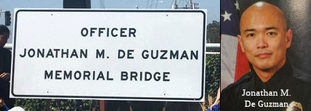 Officer Jonathan M. De Guzman Memorial Bridge