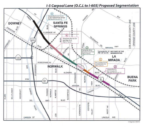 I-5 Construction Segmentation Orange County Line to I-<a href=