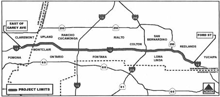 I-10 HOV San Berdoo to Redlands