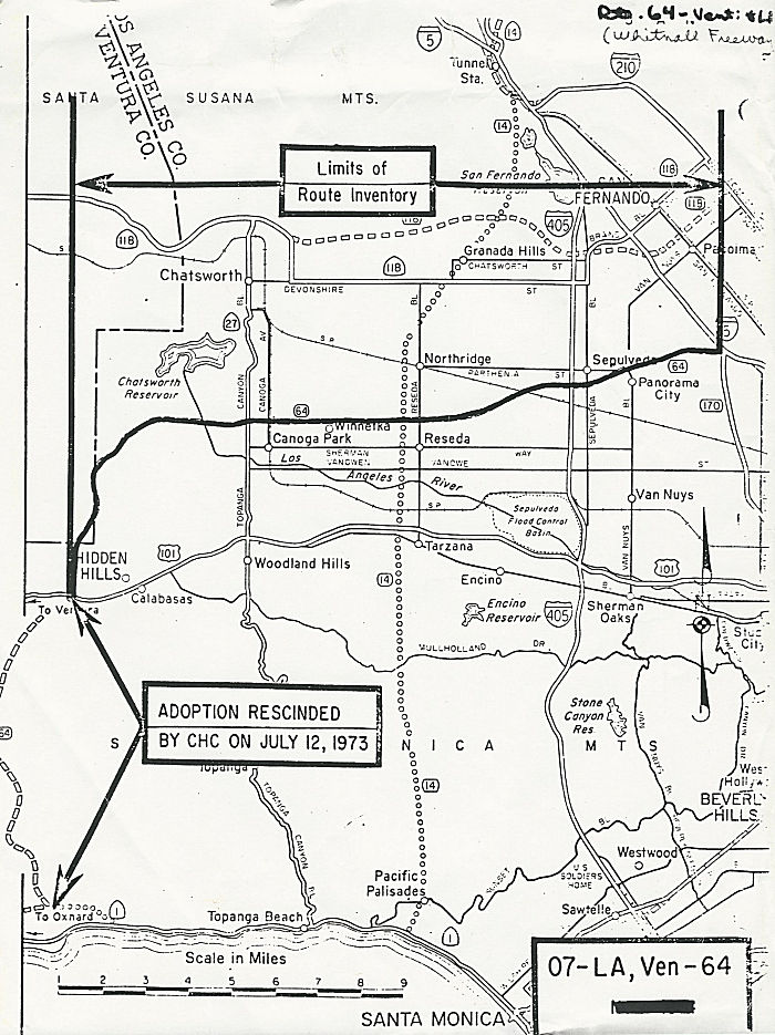 Rte 64 Route Adoption Map