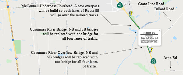 Rte 99 Cosumnes River Bridge Replacement