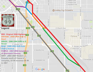 Click on image to see the full historical analysis of 99 in Fresno