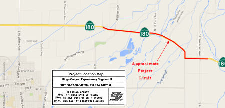 SR 180 Widening Kings Segment 3