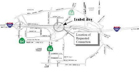 Isabel Ave Interchange