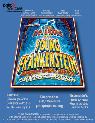 Young Frankenstein (Patio Playhouse)