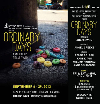 Ordinary Days (Victory Theatre)