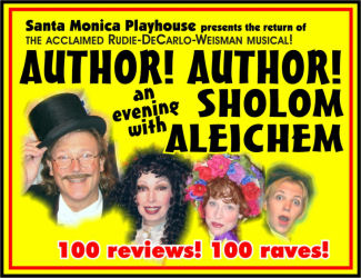 Author! Author! (Santa Monica Playhouse)