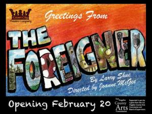The Foreigner (Crown City)