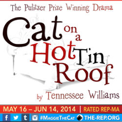 Cat on a Hot Tin Roof (Rep East)