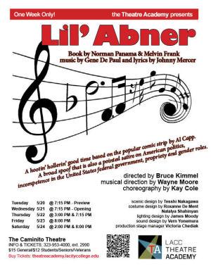 Li'l Abner (Caminito Theatre - LACC)
