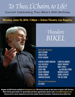 Theodore Bikel's 90th