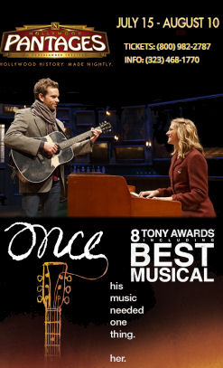 Once - A Musical (Pantages)