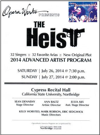 Operaworks - The Heist
