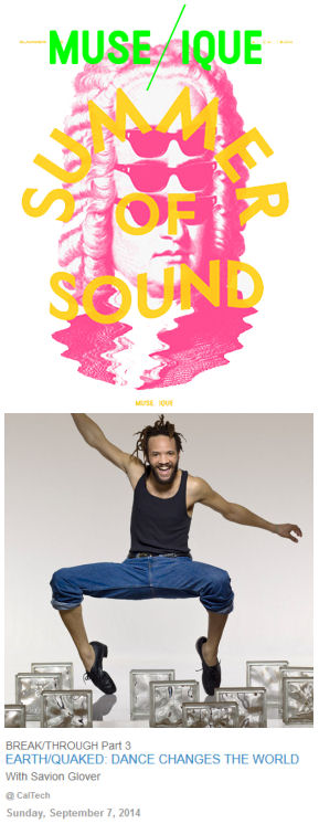 Earth/quaked with Savion Glover | Muse/ique