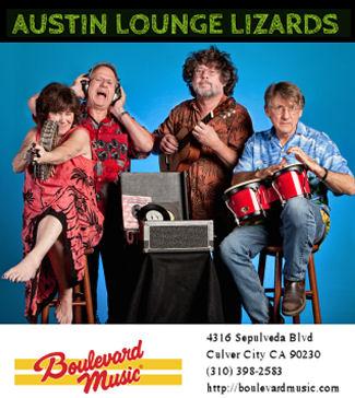 Austin Lounge Lizards (Boulevard Music)