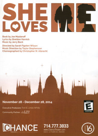 She Loves Me (Chance Theatre)