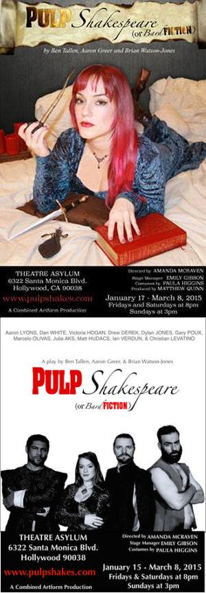 Pulp Shakespeare or Bard Fiction (Theatre Asylum)
