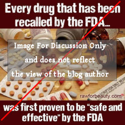 Anti-FDA Image for Discussion Purposes