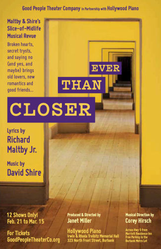 Closer Than Ever (Good People Theatre)
