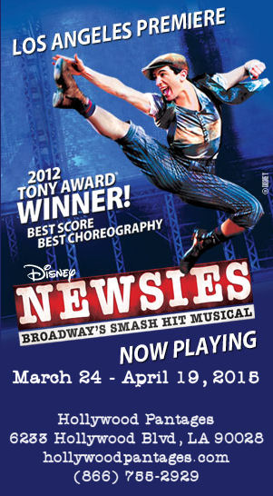 Newsies (Pantages)