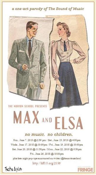 Max and Elsa No Kids No Music (Norton School / Theatre Asylum)