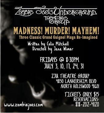 Madness Murder Mayhem (ZJU)