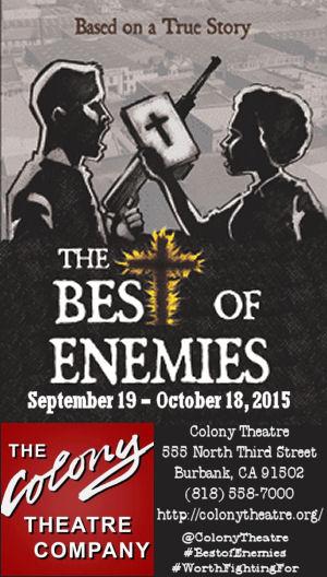 The Best of Enemies (Colony Theatre)