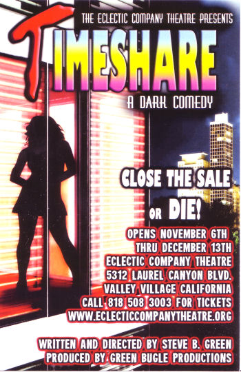 Timeshare (Eclectic Company Theatre)