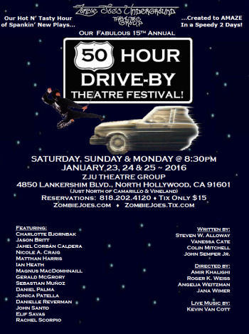 ZJU 50 Hour Drive By 2016