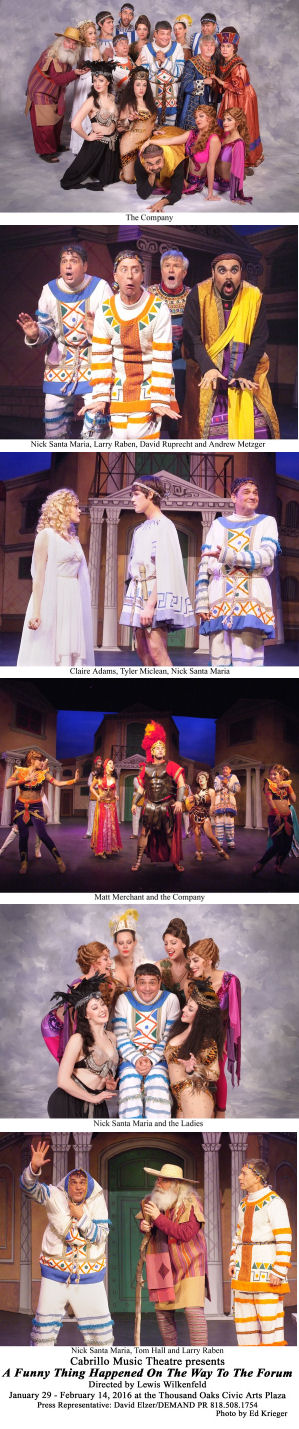 A Funny Thing Happened on the Way to the Forum (Press Photos)