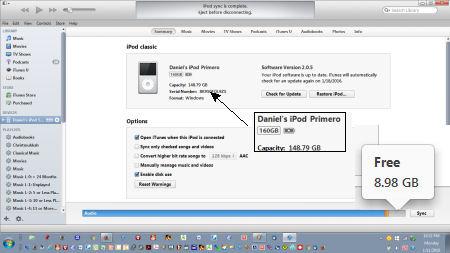 iPod Primero Before