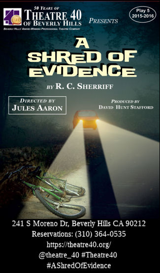 A Shred of Evidence (Theatre 40)