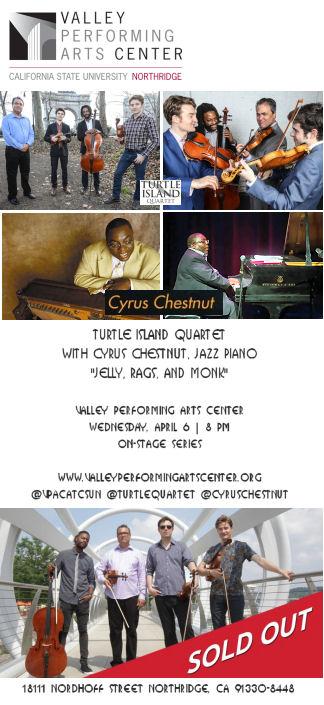 Turtle Island Quartet with Cyrus Chestnut (VPAC)