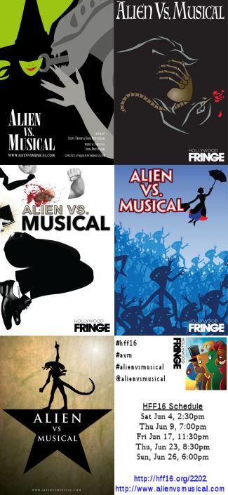 Alien vs. Musical (HFF16)