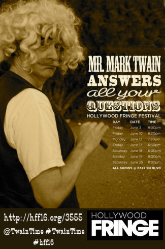 Mark Twain Answers all Your Questions (HFF16)
