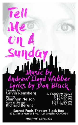 Tell Me on a Sunday (Fringe)